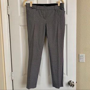 Dalia cotton mid rise trousers